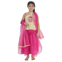 Ethnic Wear - Girls Ghagra Choli 3 Pc Set
