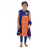 Ethnic Wear - Girls Salwar Kameez 3 Pc Set