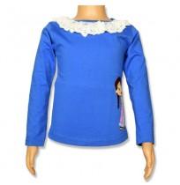Chutki Full Sleeve Top - Ampro Blue