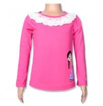 Chutki Full Sleeve Top - Azlalea Pink