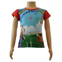 Girls Sublimation Top - Red