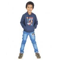 Mighty Raju Hoodie - Melange