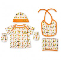 New Born 5-IN-1 Set - Orange