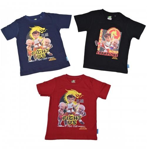 Kung Fu Dhamaka Combo T Shirt  9