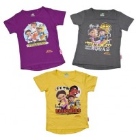 Kung Fu Dhamaka Combo T-Shirts for Kids Online
