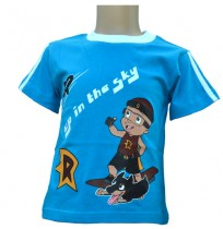 Mighty Raju T-Shirt  - Royal Blue