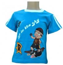 Mighty Raju T-Shirt  - Royal Blue