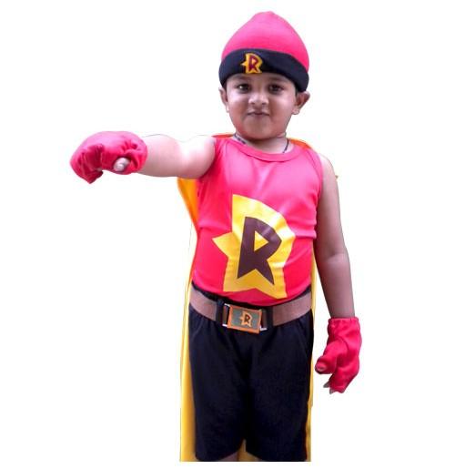 Mighty Raju Costume Set