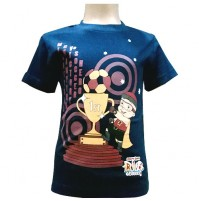Mighty Raju T- Shirt - Navy Blue