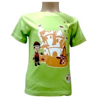 Mighty Raju T- Shirt - Green
