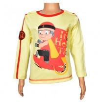 Mighty Raju Full Sleeve T-Shirt - French Vanilla