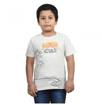 Chhota Bheem - Lets Go to the Beach Half Sleeve T-Shirt - Yellow