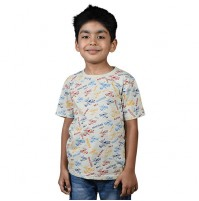 Chhota Bheem - Racing No 1 Half Sleeve T-Shirt - Yellow