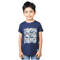 Chhota Bheem - All You Need Is Summer Half sleeve T-shirt-Navy Blue
