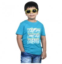 Chhota Bheem - All You Need Is Summer Half sleeve T-shirt-Cobalt