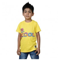 Chhota Bheem Be Cool T-shirt - Yellow