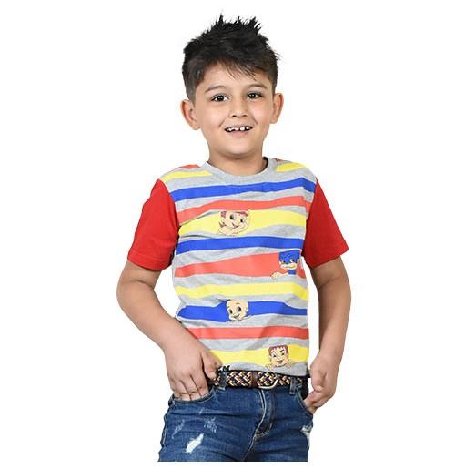 Chhota Bheem - Team Bheem T-shirt - Red