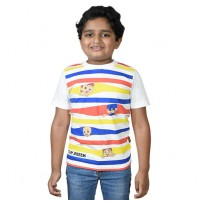 Chhota Bheem - Team Bheem T-shirt - White