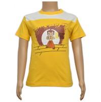 Chhota Bheem Printed Boys T-Shirt - Yellow