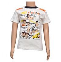 Chhota Bheem Printed Boys T-Shirt - White