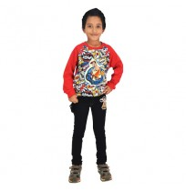 Chhota Bheem - Sweat Shirt - Red