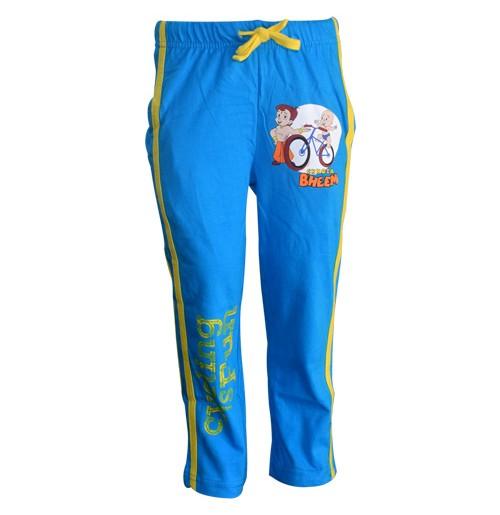 Chhota Bheem Track Pant - Med Blue