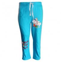Chhota Bheem Track Pant - Turquoise