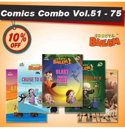 Chhota Bheem Comic Combo Offer - 3