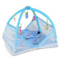 Chhota Bheem Baby Bedding Set with Mosquito Net Blue