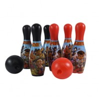 Kung Fu Dhamaka & Friends 10 Pins Bowling set