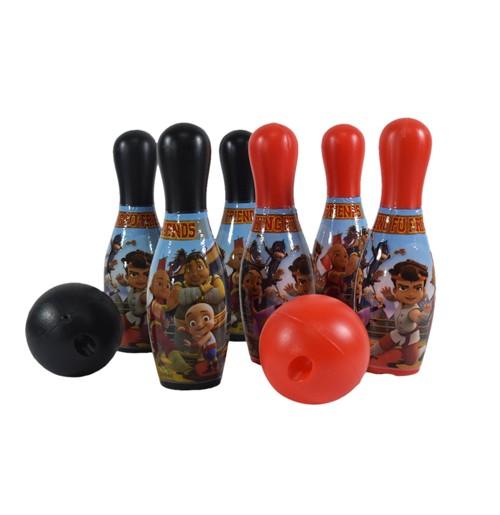 Kung Fu Dhamaka & Friends 10 Pins Bowling set