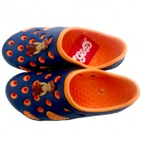Chhota Bheem Clog - Orange & Navy