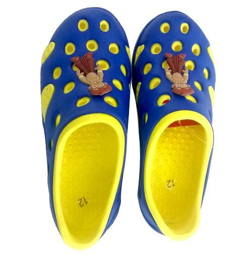 Chhota Bheem Clog - Yellow and Royal Blue