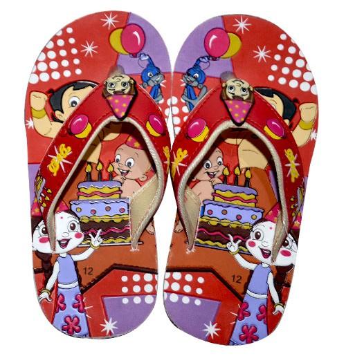 Chhota Bheem Flip Flop - Red