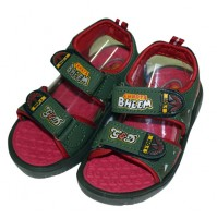 Chhota Bheem Sandal - Mehandi and Red
