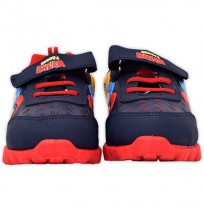 Chhota Bheem Shoes - Navy Blue & Red