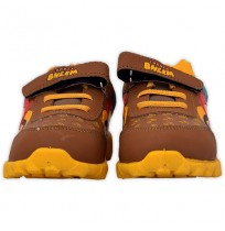 Chhota Bheem Shoes - Brown & Yellow
