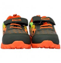 Chhota Bheem Shoes - Mehandi and Orange