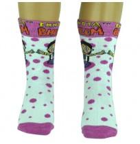Girls Socks - Full Length - Peach