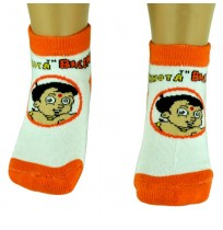 Boys Socks - Ankle Length - Orange