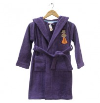 Kids Bathrobe - Violet