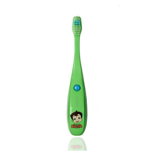 Chhota Bheem Tooth Brush-Muzica-Green