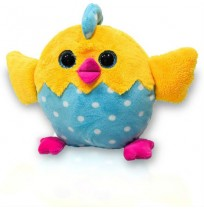 Chicken Plush - Light Blue