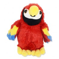 Parrot Plush Toy-Red