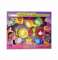 Kung Fu Dhamaka Chutki Kitchen Set 19 pcs