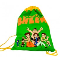 Chhota Bheem Sling Bag-Green