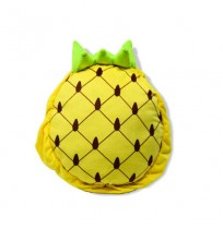 Pineapple Shape Plush School Bag for Kids