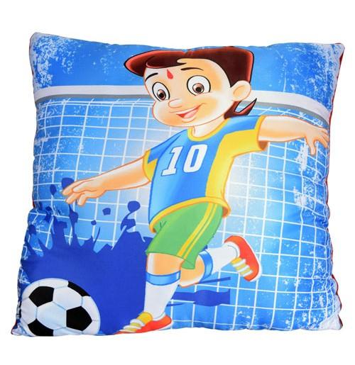 Chhota Bheem Cushion - Playing Football