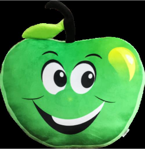 Green Apple Shape Cushion