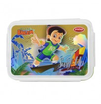 Chhota Bheem Lunch Box Green and White
